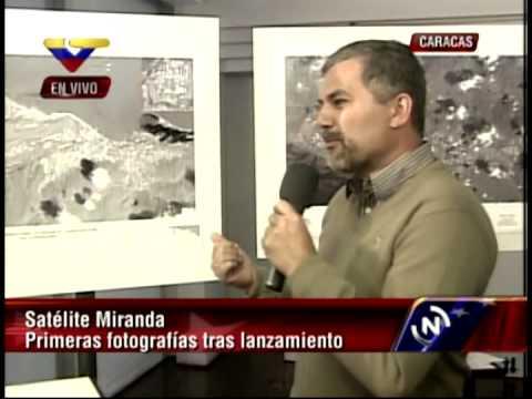 Venezuela: Muestran primeras imágenes tomadas por el Satélite Miranda