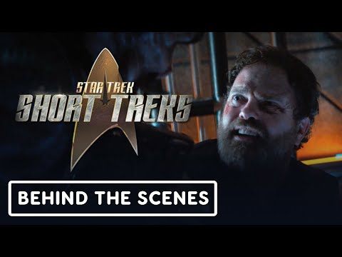 Rainn Wilson on Star Trek's Harry Mudd - Official Behind the Scenes