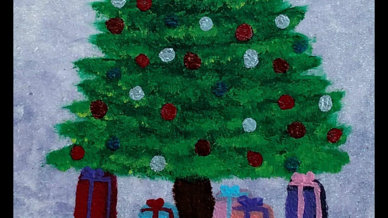 Acrylic christmas tree stock photo edit now  shutterstock