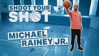 Michael Rainey Jr. Gives His Best 50 Cent Impression | Shoot Your Shot