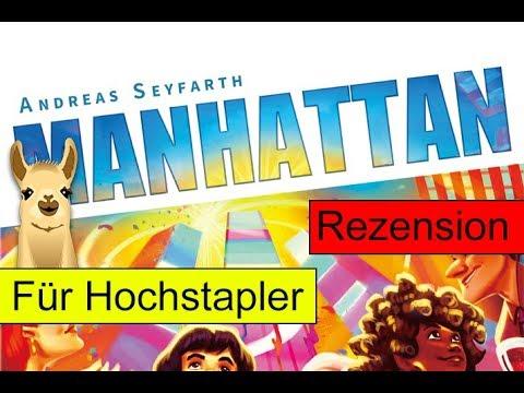 Manhattan / Spiel des Jahres 1994 / Anleitung & Rezension / SpieLama