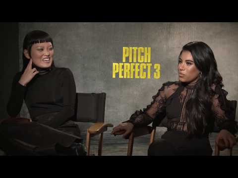 PITCH PERFECT 3 Interview With Chrissie Fit & Hana Mae Lee