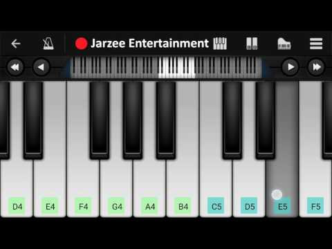 Om Shanti Om Theme Piano Tutorial | Jarzee Entertainment