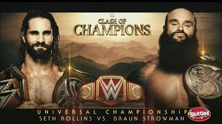 WWE Clash of Champions 2019 Match Card Predictions