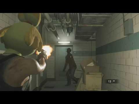 "Jill Valentine ""Isabelle"" Animal Crossing Mod - Resident Evil 3 Demo"