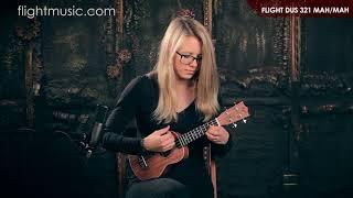 Flight DUS 321 MAH/MAH Soprano ukulele