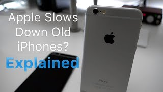 Apple Slows Old iPhones? - Explained