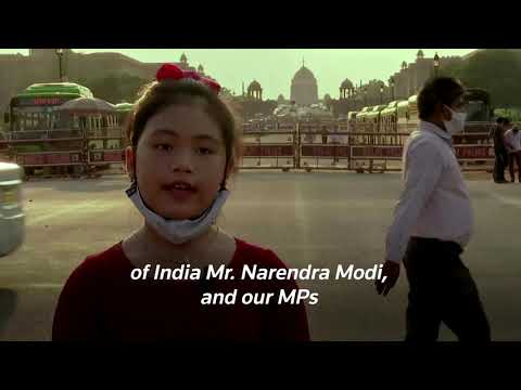 India's eight-year-old climate activist