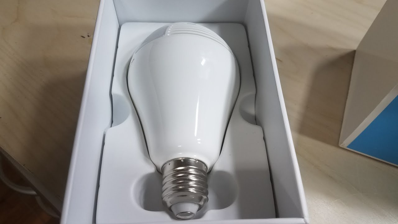 Geri 960p Hd Led Bulb Light Security Spy Camera Review