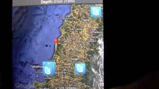 Earthquake iPhone app review