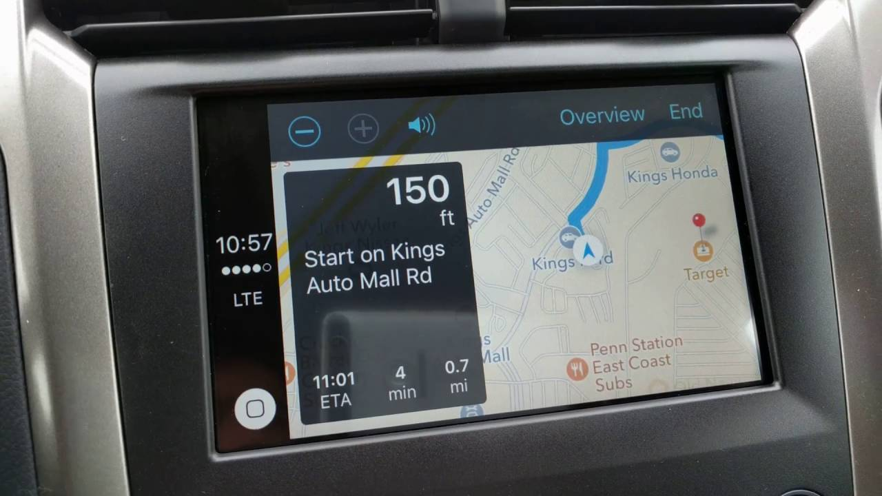 Sync 3 Apple Carplay Setting Apple Maps View to North Up, Rotate, 3D