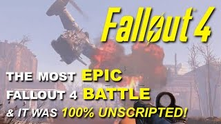 Fallout 4: One of the Most Epic Battles I