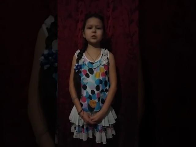 Изображение предпросмотра прочтения – ЗаринаФаттахова читает произведение «Послушайте! (Послушайте! Ведь, если звезды зажигают…)» В.В.Маяковского