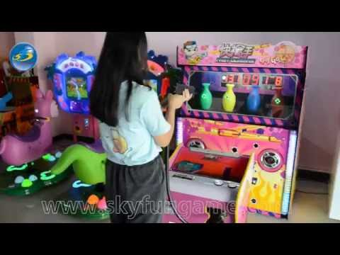 Hottest Fast Gun Man shooting game machine for sale!