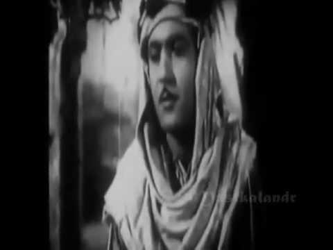 Mohammad Rafi acting in Jugnu & Laila Majnu..Tera Jalwa jisne Dekha Wo..a tribute
