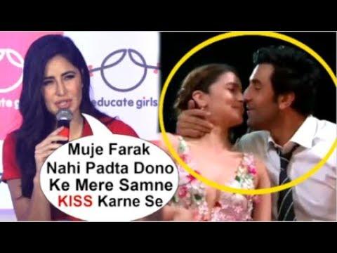 Katrina Kaif Openly SPEAKS On Ex-Boyfriend Ranbir Kapoor KISSING Alia Bhatt In Front Of Her At Award