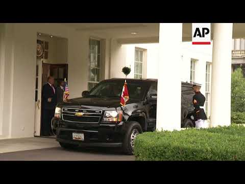Canadian PM Leaves White House After NAFTA Talks