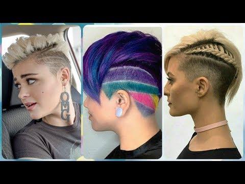 Die Fetzige 20 Ideen Zu Undercut Frisuren Damen 2019