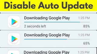 How To Disable/Stop Google Play Store Auto Update Apps Over Wifi or Data Connection-2019