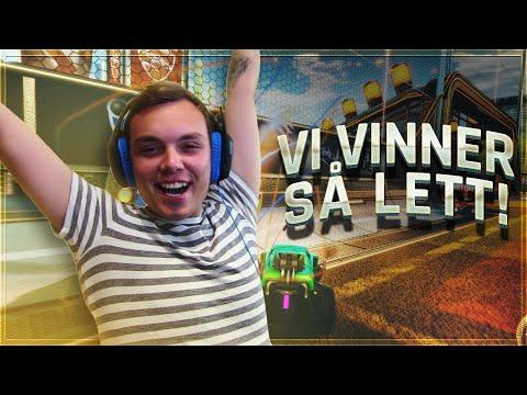 FINT AT ISAK IKKE VET HVA HAN GJØR!   Rocket League   Norsk Gaming