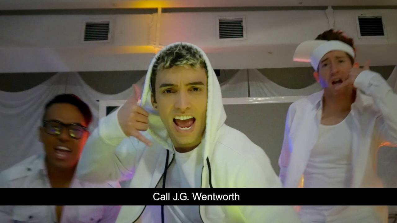 J G Wentworth Sat The Spot Boyband 30