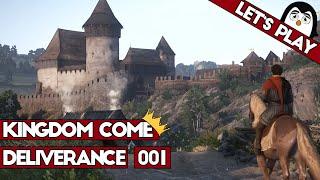Kingdom Come: Deliverance #001 - Das ist das Mittelalter [Let's Play Beta Deutsch German]
