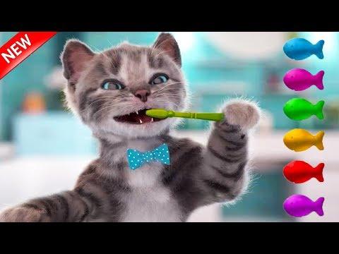Little Kitten Preschool New My Favorite Cat Trailer - Play Fun Pet Care Learning Games For Children