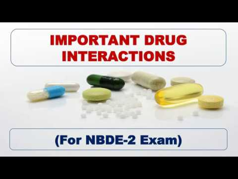 Drug Interactions for