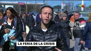 La feria de la crisis - Telefe Noticias