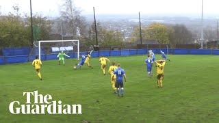 Padiham v Widnes and a remarkable final minute of non-league football