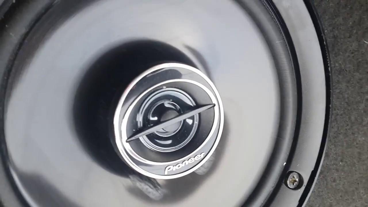 Pioneer Ts G 1645r 2 Way Series Dual Cone Speaker 16cm 250w Youtube F1634r Coaxial 2way