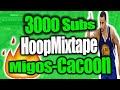 3000 Subscribers Hoopmixtape-NBA2K15 Migos-Cocoon is the song