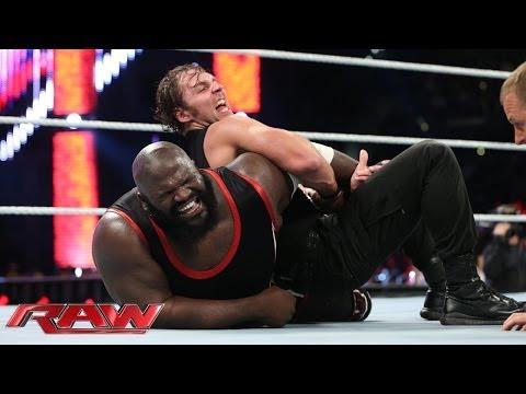 Mark Henry vs. Dean Ambrose: U.S. Title Match: Raw, Feb. 10, 2014