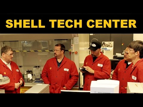 Shell Technology Center Tour - Fuel and Oil Development