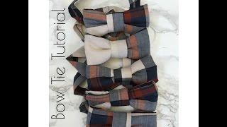 DIY: Bow Tie Tutorial