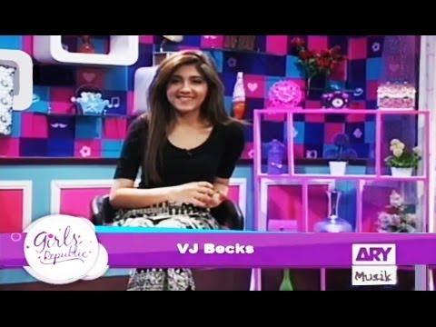 Girls Republic | VJ Backs | Topic  - Girls Kay Liye Kiya Profession Hona Chaiye ?  |  ARY Musik
