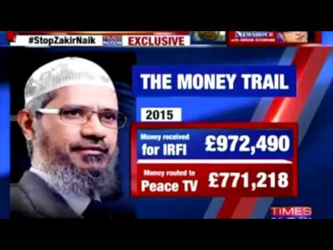 Zakir Naik asked Help from his big Donor Saudi Royal family