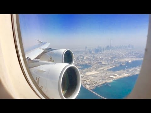 Emirates I Dubai - London Heathrow I Economy I Airbus A380-800