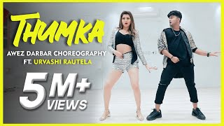 thumka-awez-darbar-choreography-ft-urvashi-rautela