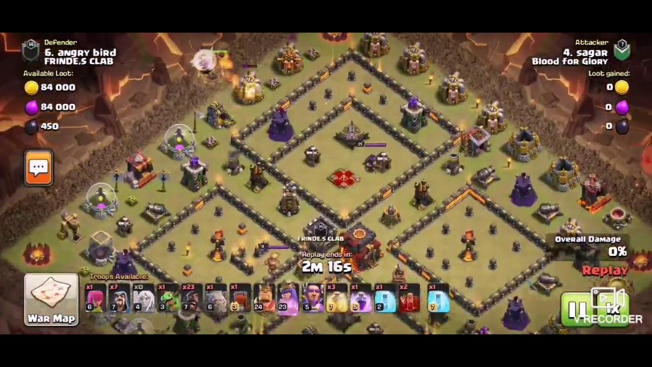 Coc hog attack th11, hog is back, best 3star war attack ...