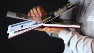 Фотокнига с обложкой из кожзама и фотовставкой(, 2014-10-13T11:57:02.000Z)