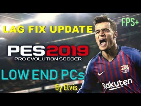 PES 2019 LAG FIX UPDATE 2