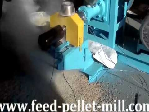 Fish Feed Pellet Machine/Feed Pellets Extruder Manufacturer