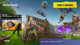 RiceGum gets raided by GGX GANG in Fortnite Battle Royale