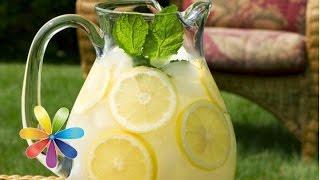 Как приготовить вкусный домашний лимонад – секрет от Лизы Глинской, специально для YouTube