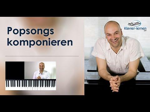 Klavier lernen - eigene Popsongs schreiben - selber komponieren am Klavier