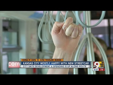 After 1 month, how's Kansas City's streetcar doing?
