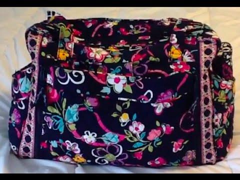 1ab384015013 Vera Bradley Make a Change Baby Bag - YouTube
