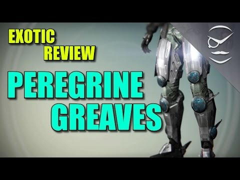 Destiny! Exotic Review Peregrine Greaves!