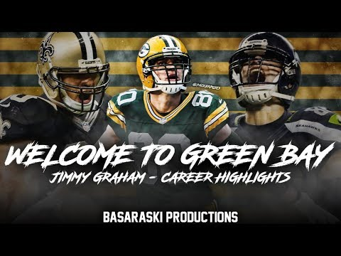 Jimmy Graham - Welcome to Green Bay - Career Highlights